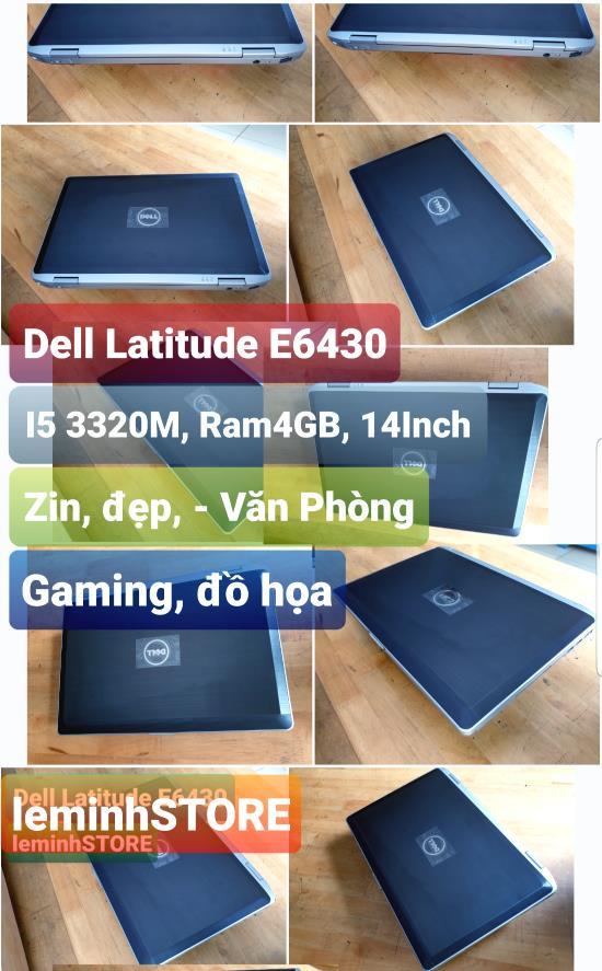 6 Dell Latitude E6430 - i5 th3, RAM 4GB, màn hình 14  - siêu chất - leminhSTORE