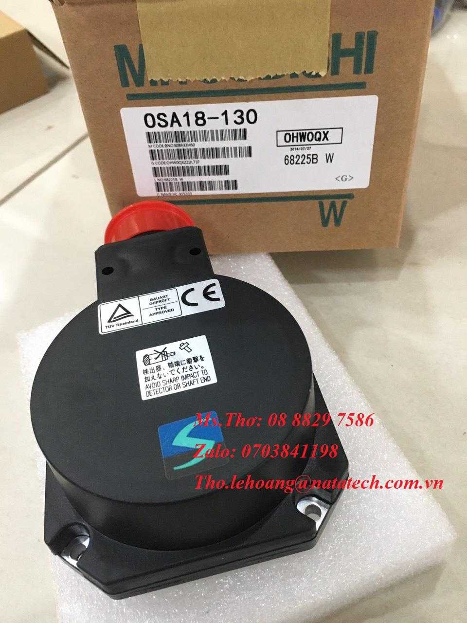 1 Encoder Mitsubishi OSA18-130 - Công Ty TNHH Natatech