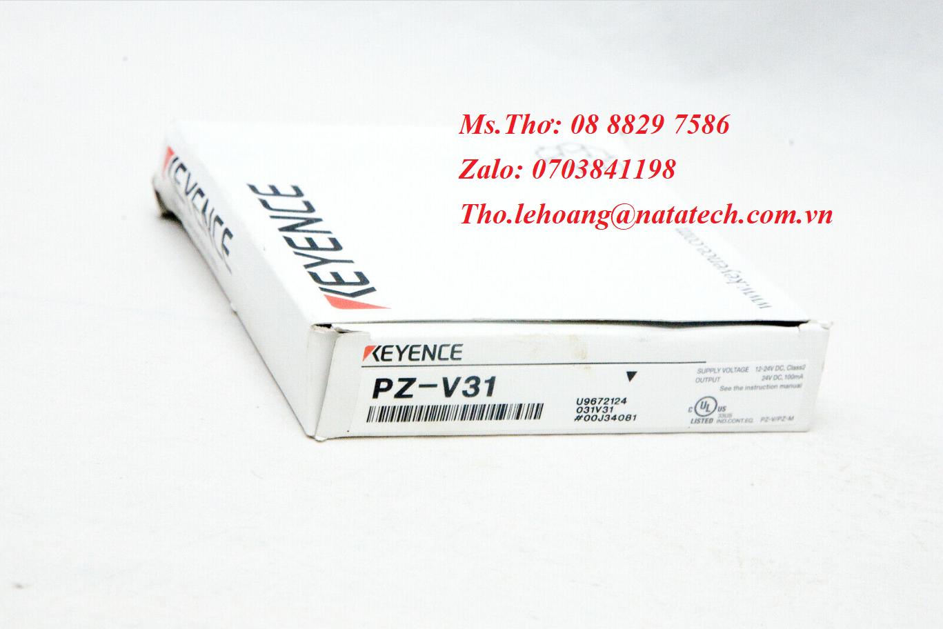 Cảm biến quang điện Keyence PZ-V31 - Công Ty TNHH Natatech