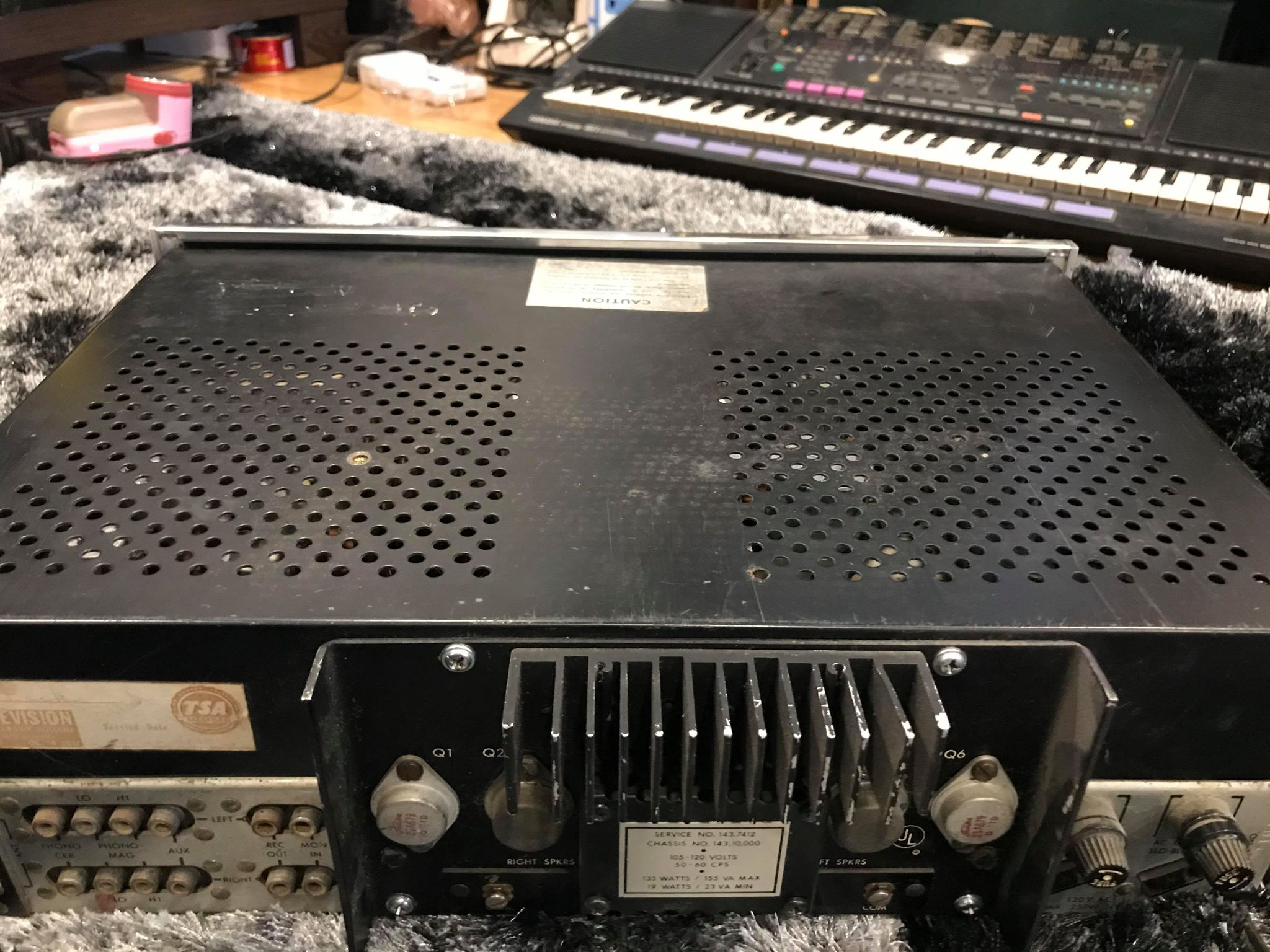 2 Ampli fisher 370 usa