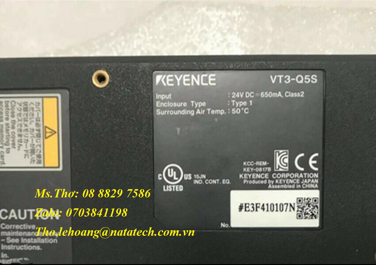 4 Màn hình cảm ứng Keyence VT3-Q5S - Công Ty TNHH Natatech