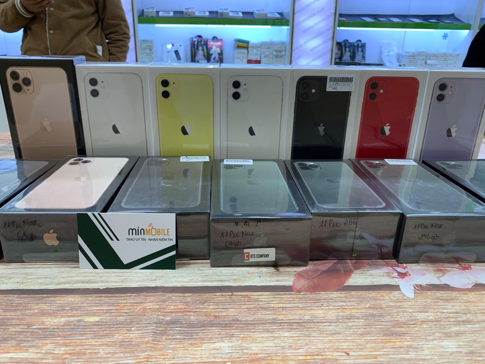 1 IPhone 11 mới tinh đập hộp nguyên seal box : Bảo hành 12 tháng apple 1 đổi 1 tại Minmobile Hải Phòng