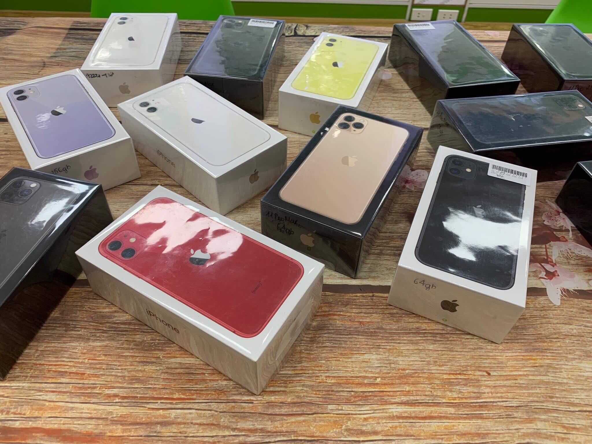 5 IPhone 11 pro , 11 pro max mới tinh đập hộp giá tốt tại Minmobile Hải Phòng - Có trả góp