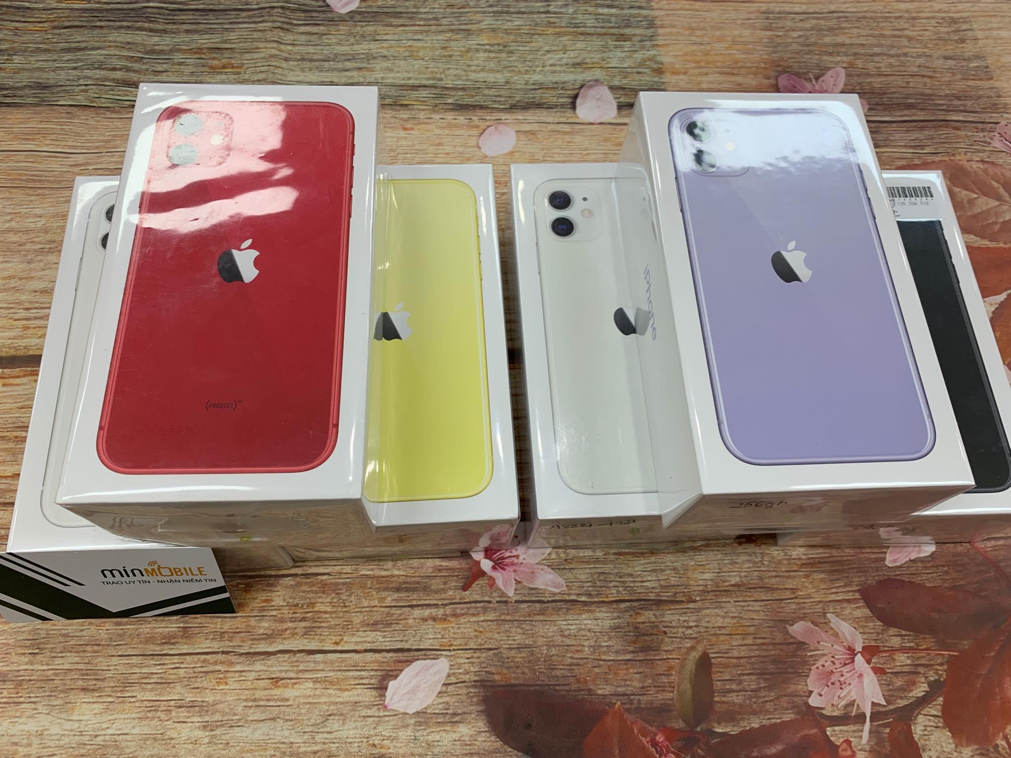 5 Máy Đập Hộp : iPhone 11 , iPhone 11 Pro , iPhone 11 Pro Max new Full box đang được giảm giá 2 triệu