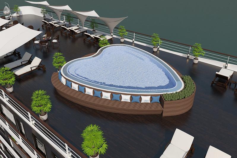 4 Tour 2N1Đ Du Thuyền Vịnh Hạ Long 5 Sao Aspira Cruises