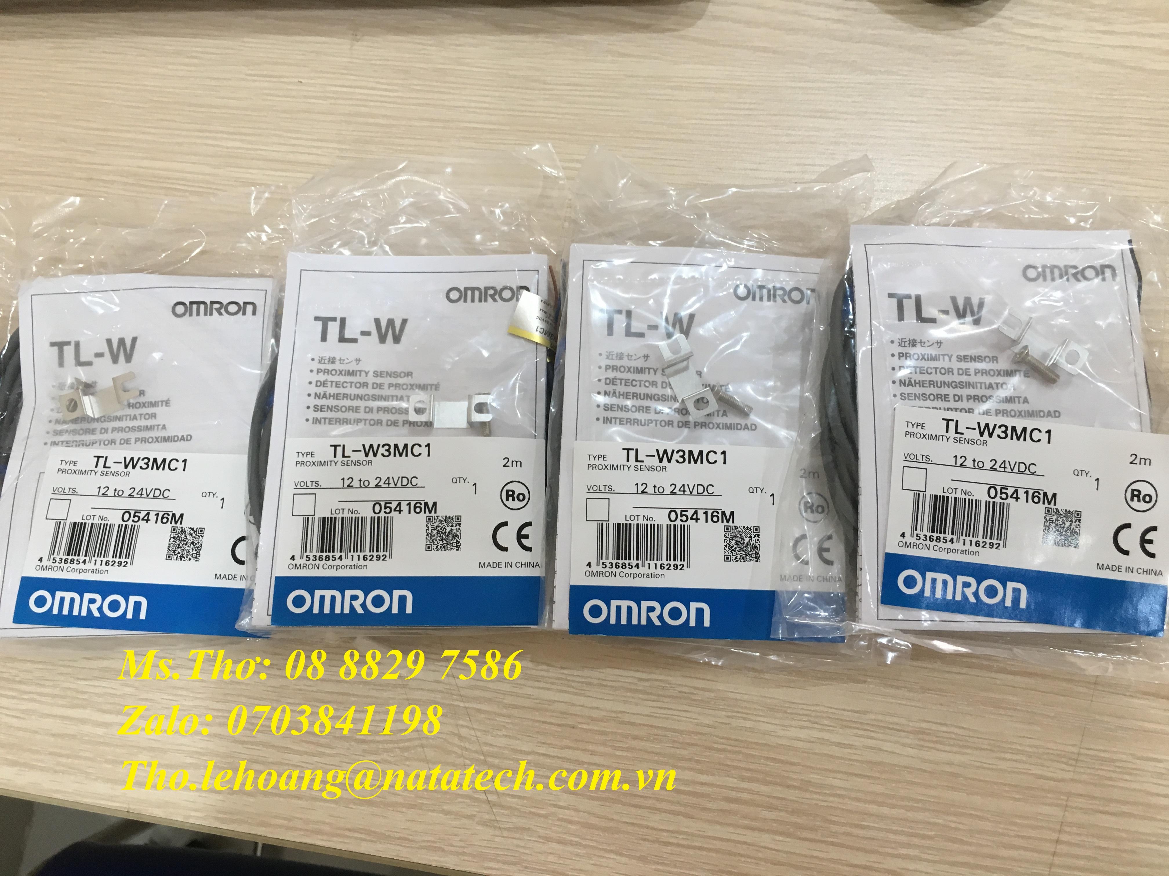 Cảm biến Omron TL-W3MC1 2M - Công Ty TNHH Natatech