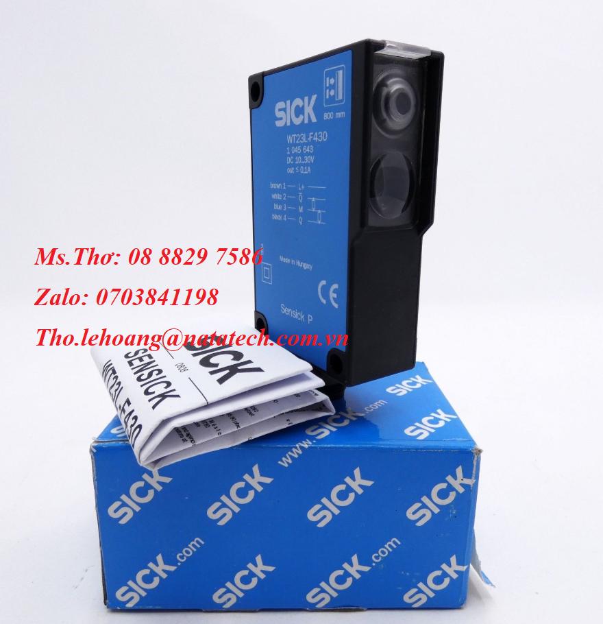3 Cảm biến Sick WT23L-F430 1045643 - Công Ty TNHH Natatech