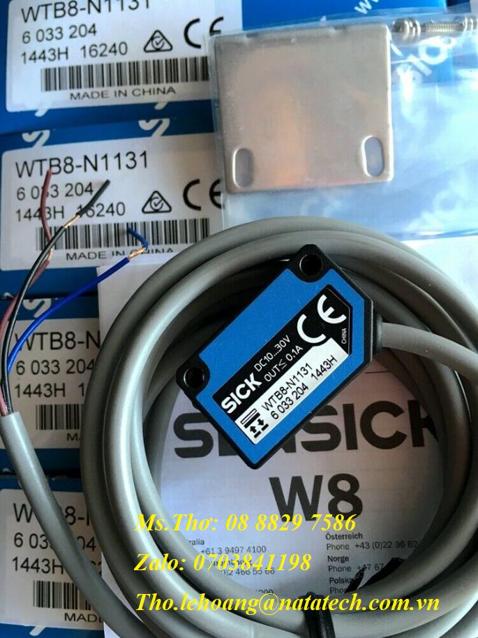 Cảm biến Sick WTB8-N1131  6041461 - Công Ty TNHH Natatech