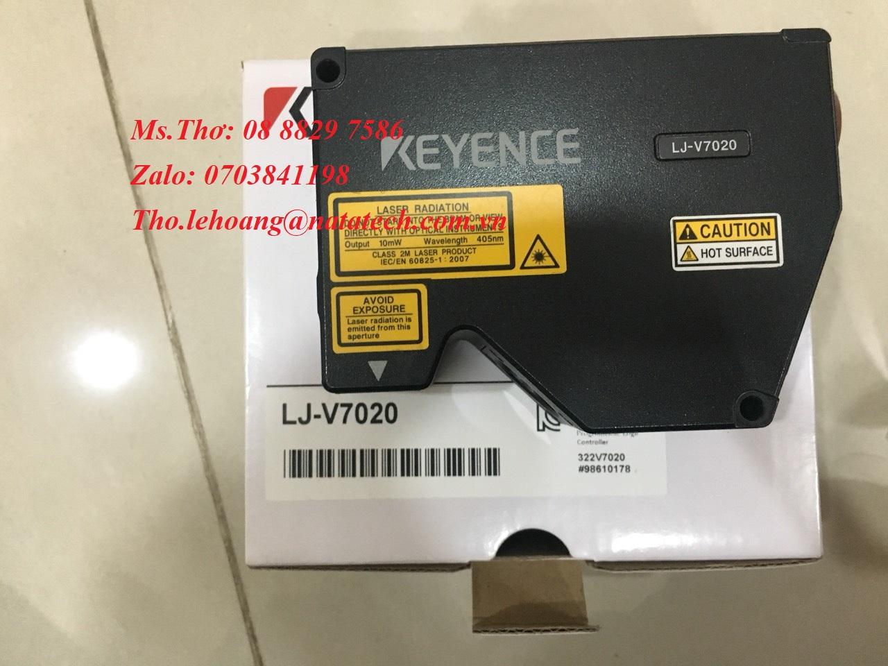 1 Đầu cảm biến Keyence LJ-V7020 - Công Ty TNHH Natatech