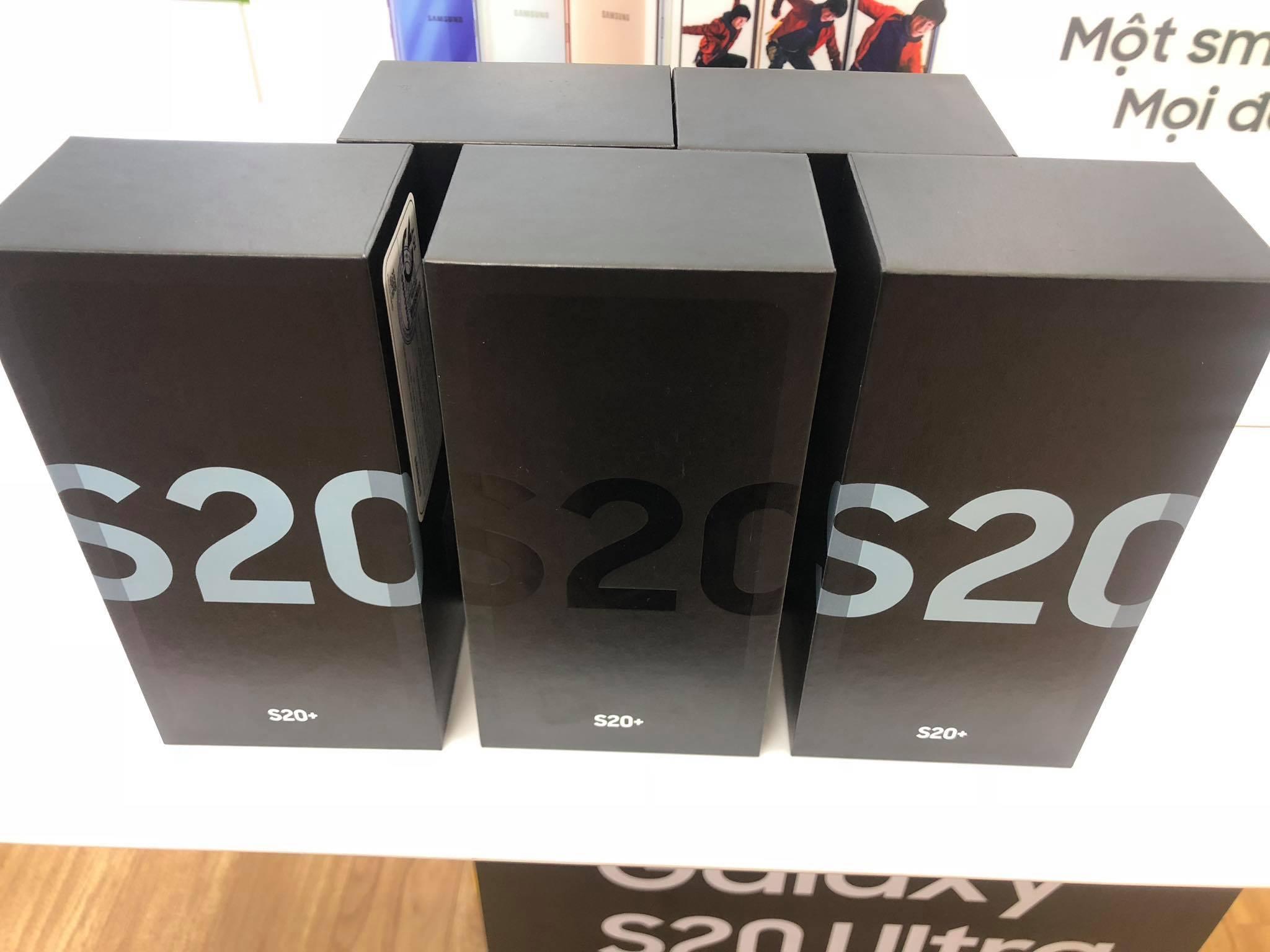 7 Samsung galaxy S20 plus , S20 ultra , S20 plus 5G , S20 ultra 5G sẵn hàng tại Minmobile Hải Phòng