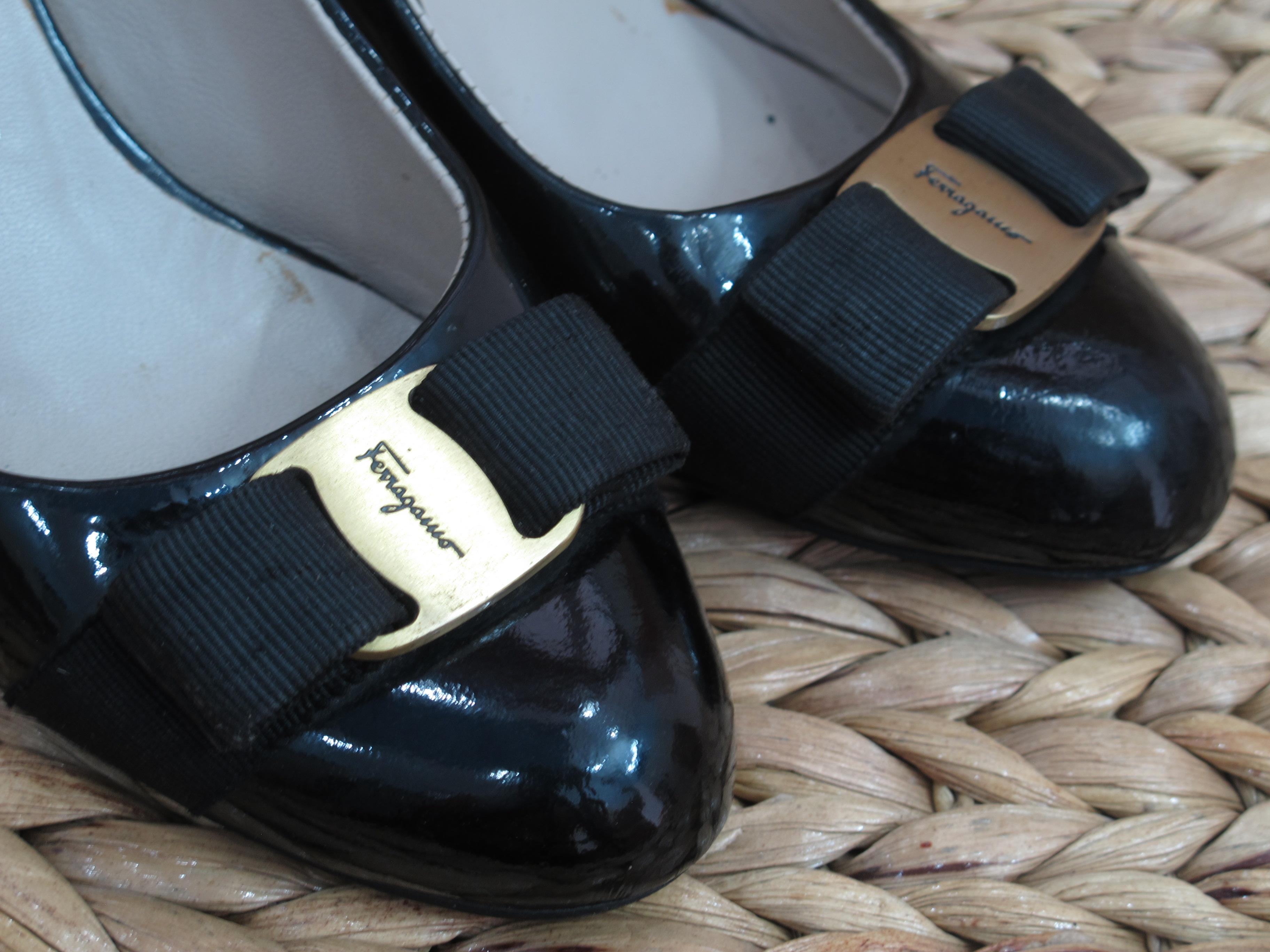 7 Giày Salvatore Ferragamo Nữ Tóp Luxury like new giá rẻ Chuẩn Authentic