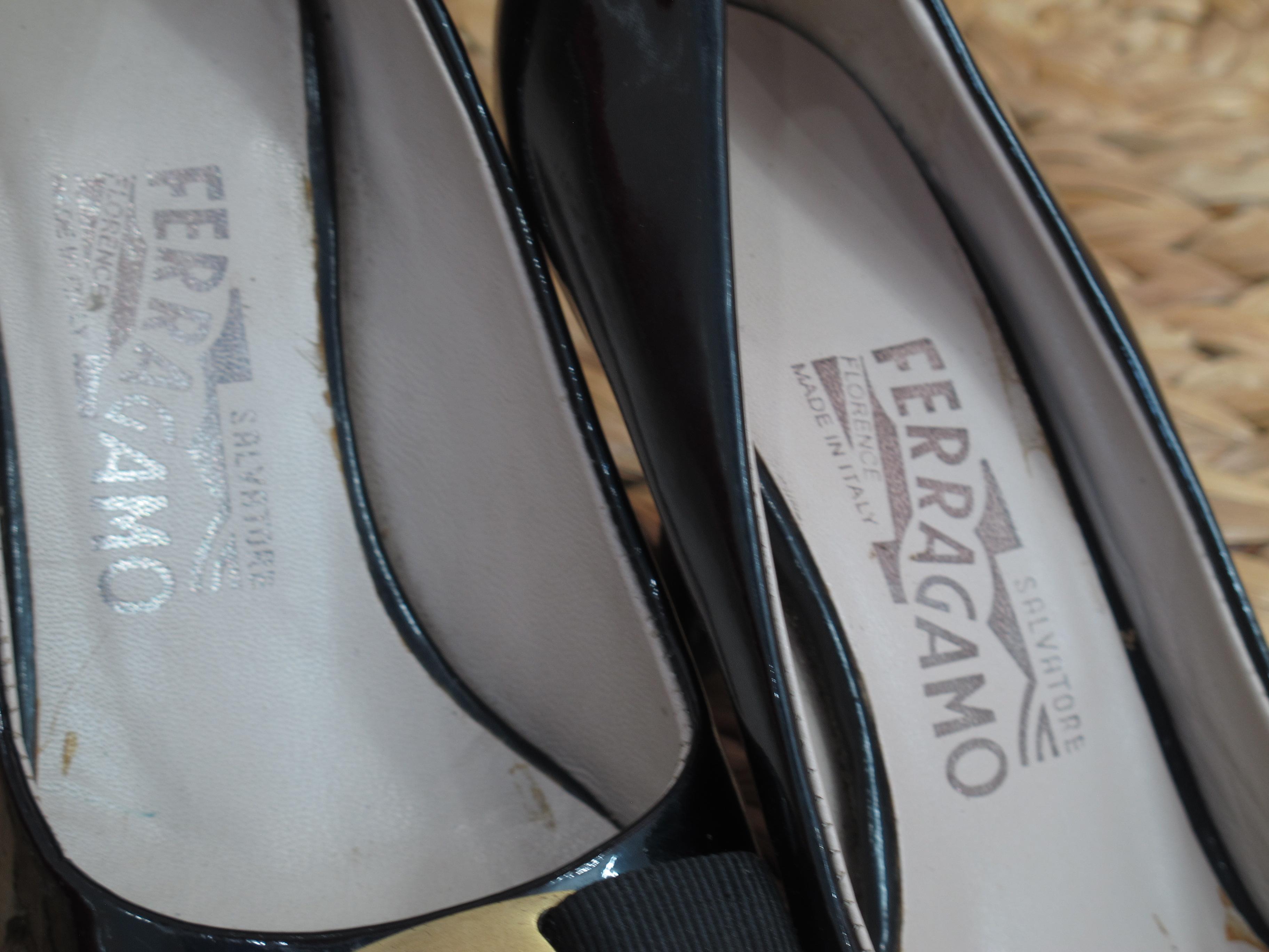 11 Giày Salvatore Ferragamo Nữ Tóp Luxury like new giá rẻ Chuẩn Authentic