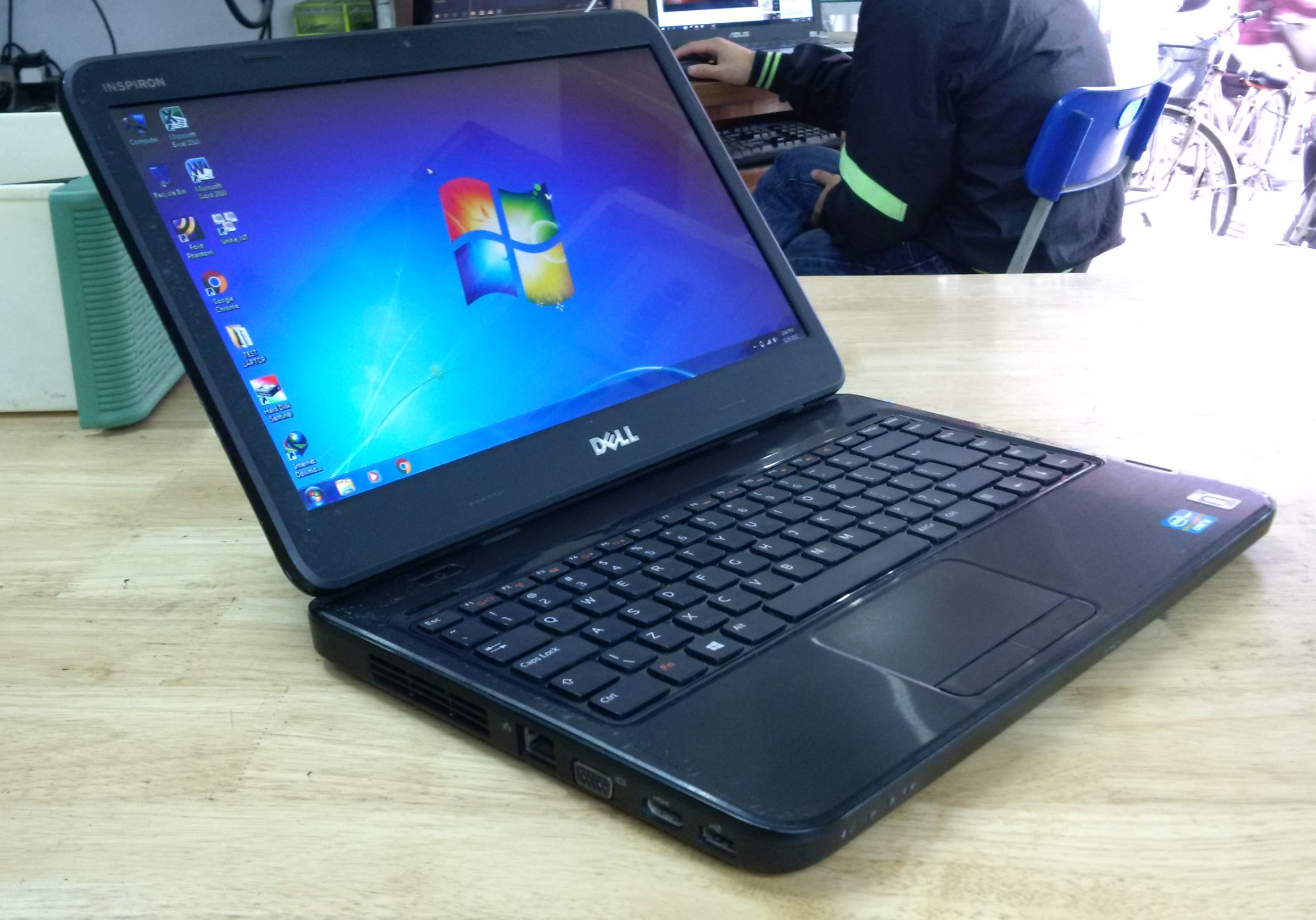 how to set up a new dell inspiron laptop