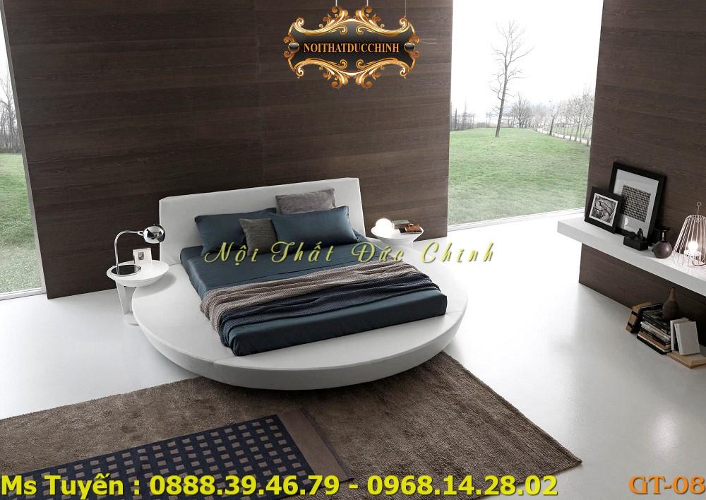 2 Nơi mua giường ngủ hình tròn giá rẻ tại quận 2, quận 7 - Giường tròn cao cấp giá tại xưởng tphcm
