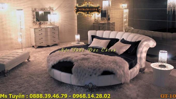 4 Nơi mua giường ngủ hình tròn giá rẻ tại quận 2, quận 7 - Giường tròn cao cấp giá tại xưởng tphcm