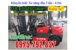 Khuyến mãi Xe nâng dầu cũ/mới 3t-4.5m Niuli, 2t-3t Mitubishi, Nissan, siêu...