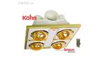 Đèn sưởi nhà tắm Braun  Kohn