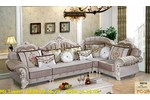 Giá sofa tân cổ điển chữ L tại tphcm, Sofa cổ điển...