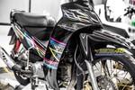 Tem xe Yamaha Sirius - Tem xe thiết kế Light color