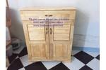 Tủ để giày gỗ tự nhiên , gỗ cao su , miễn...