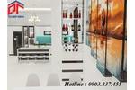 Tủ bếp xinh đồng hành cùng không gian bếp sang trọng tinh...