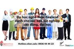 Du Học Nghề Tại New Zealand Dành Riêng Cho Bạn Tốt Nghiệp...