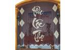 Rèm hạt gỗ Phúc Lộc Thọ che bàn thờ phong thủy