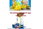 Chất tẩy rửa, dụng cụ vệ sinh văn phòng và gia đình