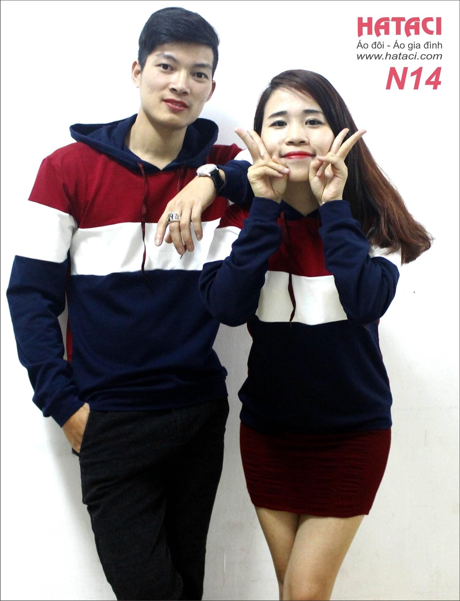 16 Mua áo đôi cửa hàng Hataci 191 Bạch Mai , Hà Nội