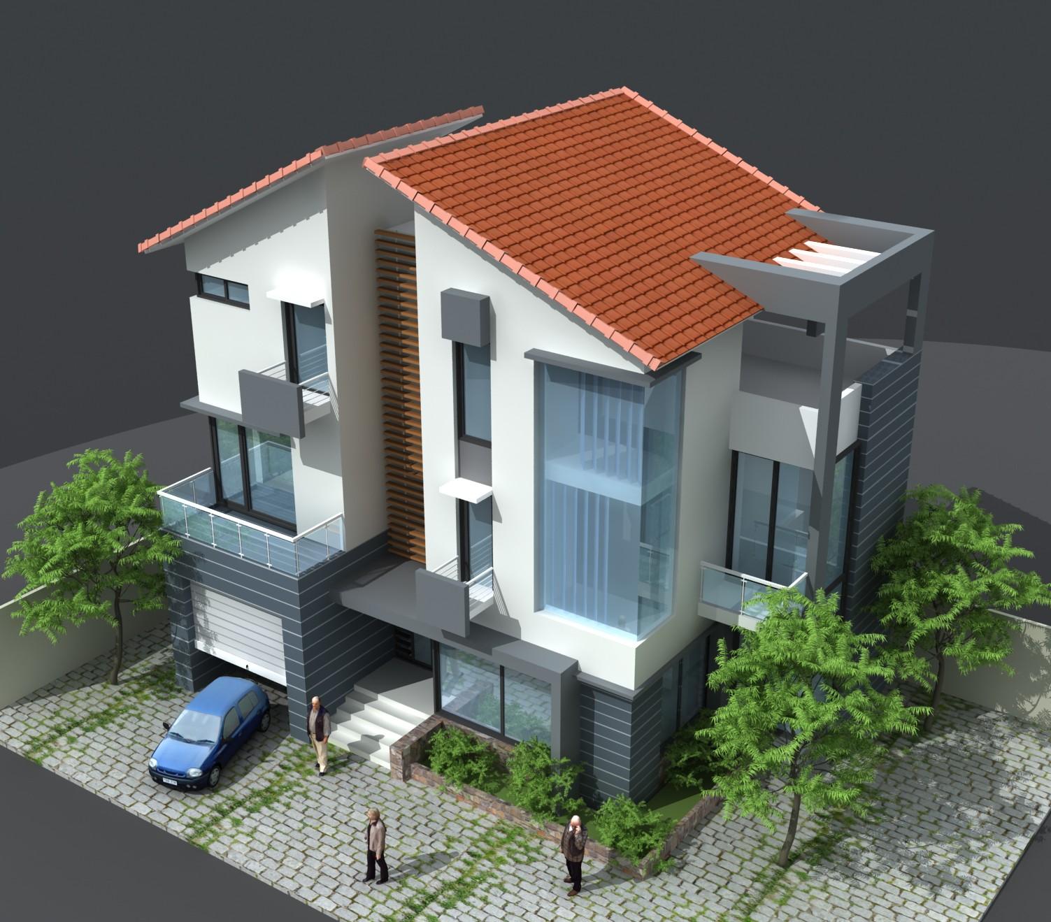 2 Thiết Kế Nhà Giá Rẻ Tại Hà Nội Quảng Ninh 45.000đ, Thiết Kế Nhà Tại Hà Nội Quảng Ninh