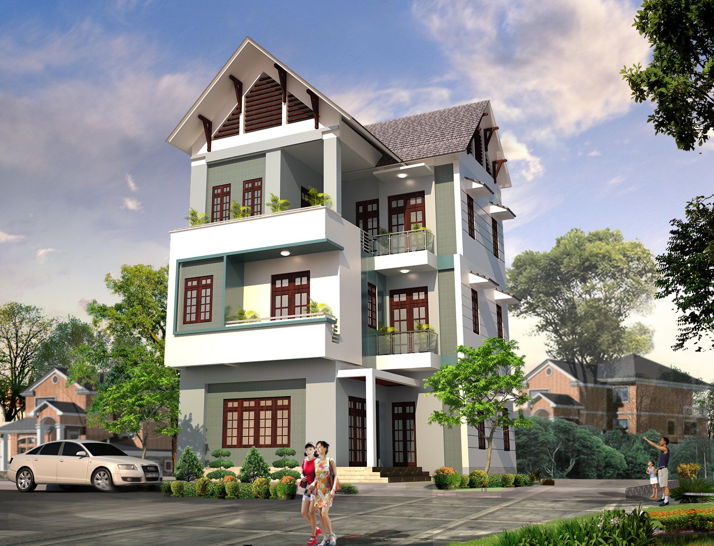 3 Thiết Kế Nhà Giá Rẻ Tại Hà Nội Quảng Ninh 45.000đ, Thiết Kế Nhà Tại Hà Nội Quảng Ninh
