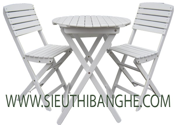 Bàn ghế cafe gỗ , bàn ghế ban công IKEA , bàn ghế gỗ ngoài trời IKEA