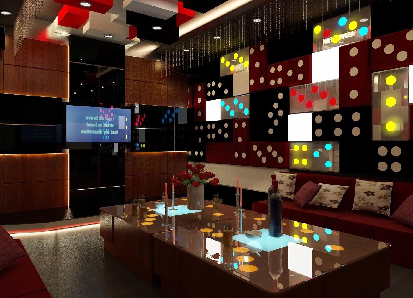 1 Thiết kế nội thất nhà hàng giá rẻ tại hà nội, Thiết kế nội thất Quán Cafe Karaoke