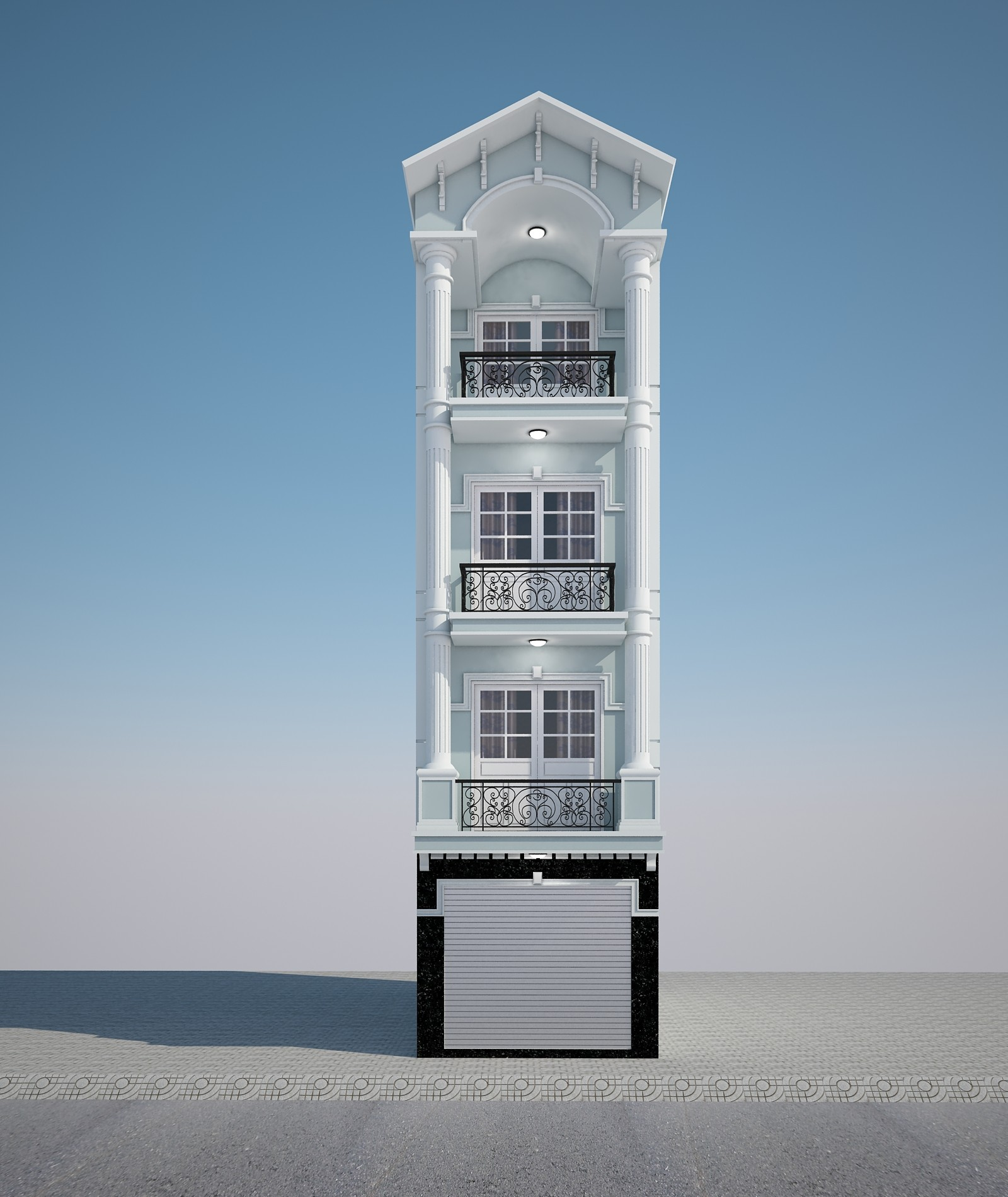 10 Thiết Kế Nhà Ống Tại Hà Nội 45.000đ, Thiết kế nhà ống đẹp ở Hà Nội Giá Rẻ