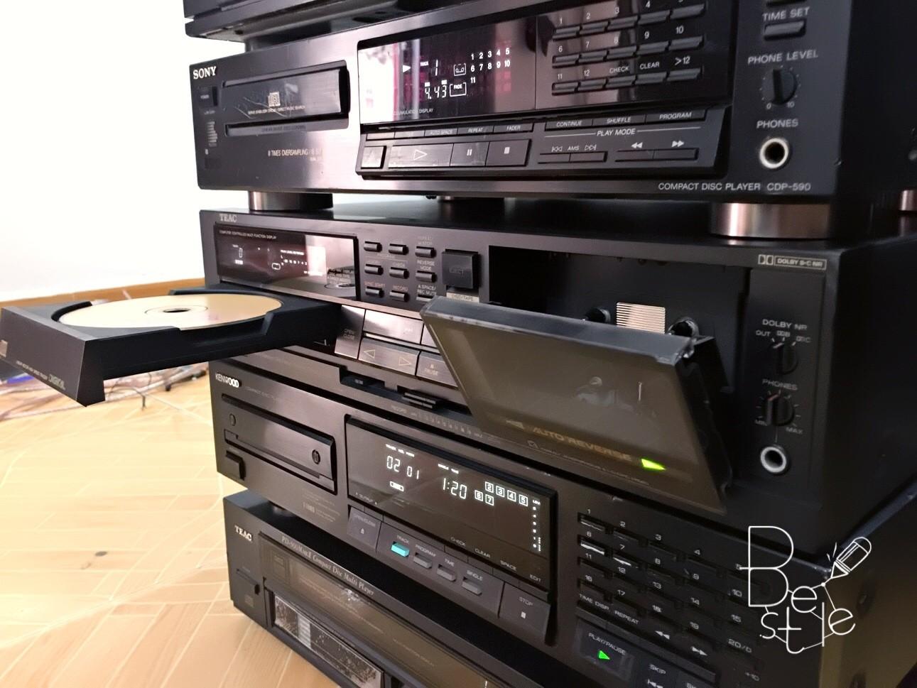 Bán chiếc đầu CD TEAC AD5 2 trong 1,chạy 1 cửa CD 1 cửa cattset tape âm thanh hay,máy Nhật bãi đẹp