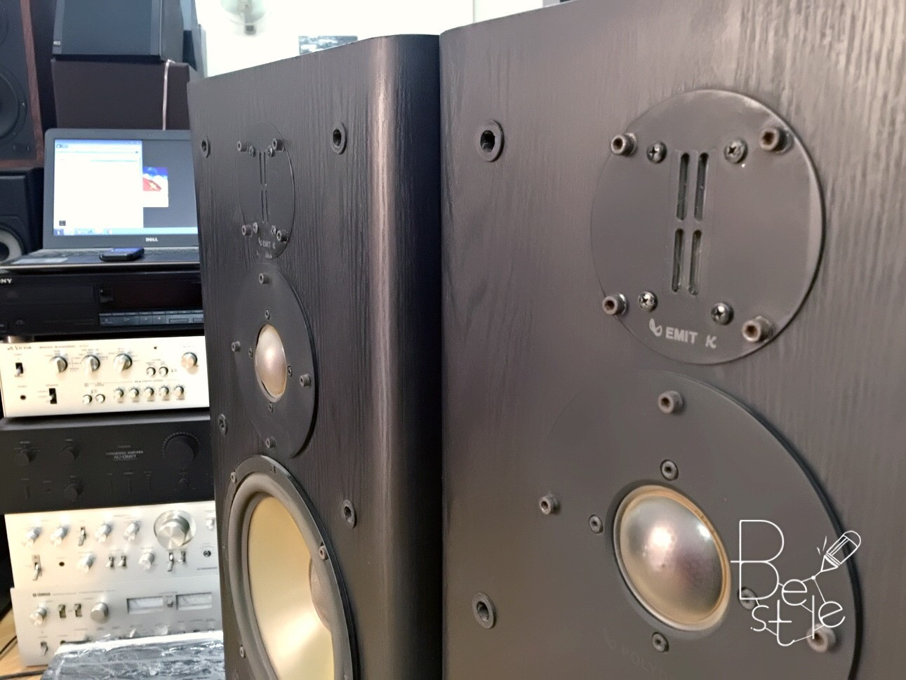 Bán đôi loa infinity RS6000 2 bass 25 trung dome tép emit bãi USA tiếng sâu mạnh mẽ